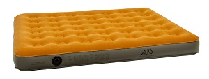 ALPS Mountaineering Rechargeable Queen Size Inflatable Air Bed for Camping Outdoors or Caravanning.