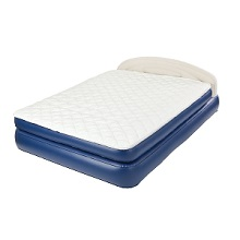 Aerobed Raised Queen Pillowtop Air Mattress Bed