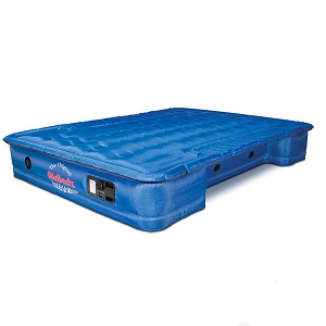 AirBedz Mid-size Truck Bed Inflatable Air Bed Mattress truck with Built-in Pump for camping adventures.
