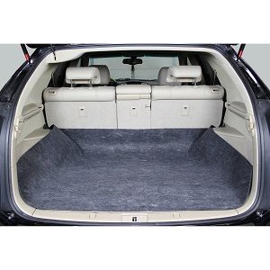 Quilted Luxury Waterproof Cargo Floor Liners Dogs with Bumper Guard.