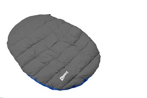 Chuckit Fetch Games Travel Bed for Large to Small Dogs, good camping dog bed for you camping companion.