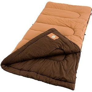 Coleman Dunnock Large Tall Cold Weather Sleeping Bags
