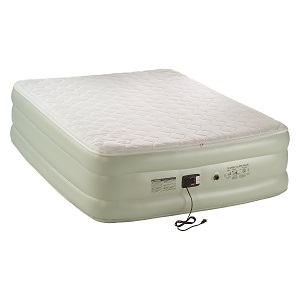 Coleman Premium Pillowtop Quickbed with built-in pump