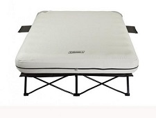 Coleman QueenCot with Airbed Mattress