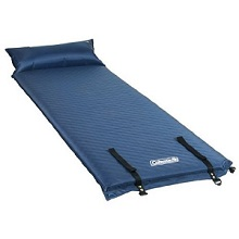 Coleman Self-Inflating Camp Pad with Pillow.
