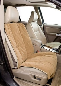Duragear Dog Car Bucket Seat Cover for Pets, soft and durable.