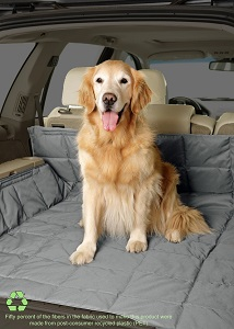 Duragear SUV Quilted and Padded Cargo Cover for Dogs with side area coverage.