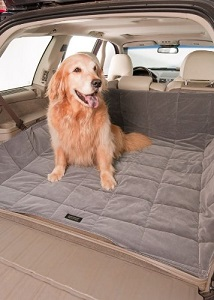 2nd View SUV Cargo Liner, Quilted, Padded, Color Slate.
