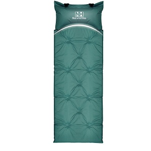 Emarth Self-Inflating Air Mattress Sleeping Pad Mat with Built-in Inlatable Pillow for Outdoor Camping.