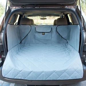 FrontPet Extended Width Quilted Dog Cargo Cover for SUV.  Durable Liner Cover for Any Pet.