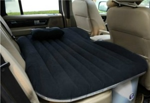 inflatable air mattress beds for car, suv backseat or truck bed