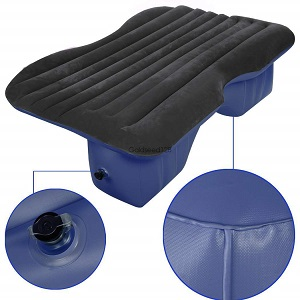 Homep Car Travel Inflatable Air Bed Mattress for Car, SUV back seat, contours to the backseat of most vehicles.