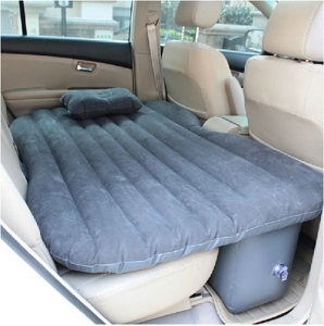 Inflatable Travel Holiday Camping Car Mattress Back Seat Mattress Bed Cushion for Car, Extended Cab Pick Up Truck.