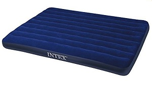 Intex Fabric Extra Wide Camping Mattress with fabric top
