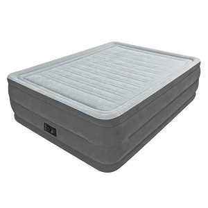 Intex Comfort Plush Elevated Dura Beam Air Bed raised 22 inch high for Heavy People
