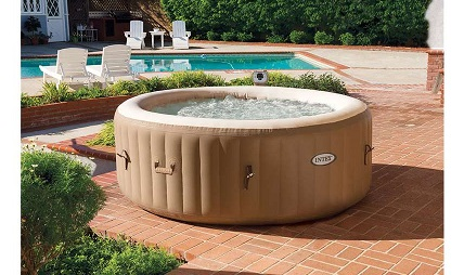 Intex PureSpa Inflatable Therapy Spa Hot Tub Bubbles.