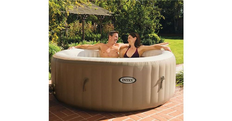 relaxing hot tub inflatable hot tub spa portable hot tubs spa tubs. Black Bedroom Furniture Sets. Home Design Ideas