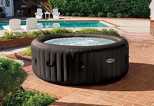 Intex Pure Spa 4 Person  Portable Inflatable Heated Jet Massage Bubble Hot Tub, Intex Inflatable Portable Hot Tubs.