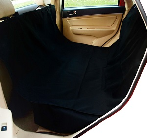 Krunco Waterproof Pet Car Seat Hammock Covers, Black.