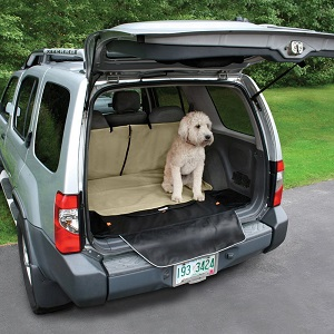 Kurgo Dog Cargo Cape Liner with Bumper Flap for Cars and SUVs.