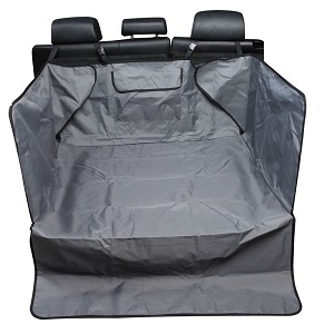 Leader Accessories Pet Cargo Liner for SUV, CRV Rear Area, Convenient Large Storage Pocket, Side Coverage, Soft Fabric.
