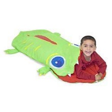 Melissa & Doug Augie Alligator Sleeping Bag for Boys