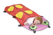 Melissa & Doug Mollie Ladybug Sleeping Bag for Kids Sleepovers