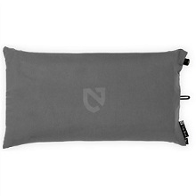 Nemo Fillo Luxury Inflatable Backpacking, Travel Pillow, Nimbus Grey.