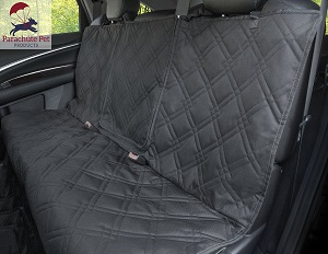 Non-slip backing wide bench car seat protector