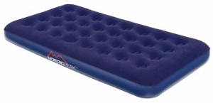 Nordic Peak Perfect Rest Ultra Plush Deluxe Inflatable Air bed Mattress Twin Size with soft flocked surface.