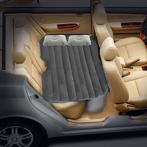 inflatable air mattress beds for car suv backseat or truck bed ideas of some of the best air. Black Bedroom Furniture Sets. Home Design Ideas