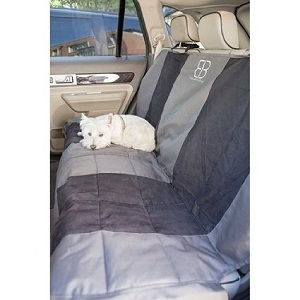 Petego Rear Seat Covers for Dogs Vehicle Seat Protector, Rear Seat Cover Xlarge.