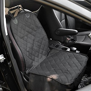 Pettom Dog Car Seat Cover, Waterproof with non-slip rubber backing