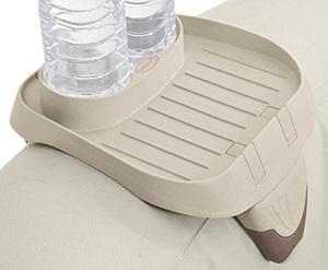 PureSpa Cup Holder, 2 Standard Size Beverage Containers while relaxing in your hot tub spa
