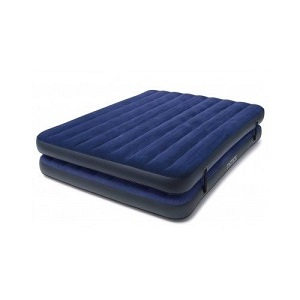 Queen Air Bed Mattress Inflatable Mattresses 2 in 1 Airbed Blow Up Portable Beds