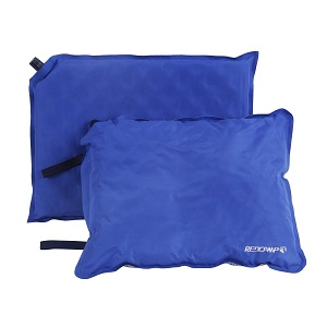 REDCAMP Best in Self Inflating Camping Pillow and Seat Cushion Set, Self Inflatable backpacking Pillow and Seat Pad Set. Also great pillow for Hiker.