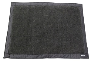 Ruff and Tuff Self Inflating Dog Bed Travel with Fleece Top, Puppy, Pet, Puncture and Water Resistant Mattress Base.