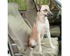 Solvit Waterproof Heavy Duty Bucket Seat Cover for Pets