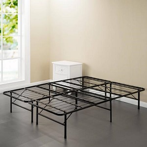 metal spa sensations steel smart base bed frame for air mattress and regular mattress
