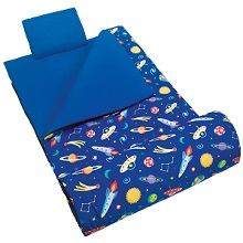 Wildkin Universe Sleeping Bag for Boys, Out of this World Sleeping Bag.