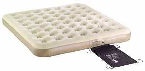 Coleman Camping King Size Quickbed Inflatable AirBed Mattress Built Pump.