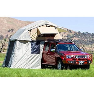 ARB ARB3102 Simpson III Brown SUV Rooftop Tent Annex / Changing Room  sc 1 st  Best Inflatable Air Bed & Favored Truck and SUV CUV Camping Tents Minivan Tents SUV Tent ...