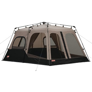 Coleman Black and Gray Instant Two-room Eight-person C&ing Tent with Room Dividers  sc 1 st  Best Inflatable Air Bed & Favored Family Camping Tents with Multi Rooms / Room Dividers and ...