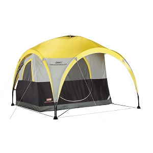Coleman 2-For-1 All Day 2-Person Shelter Tent fits one  sc 1 st  Best Inflatable Air Bed & Favored Two Person or Four Person Family Camping Tents for 24 ...