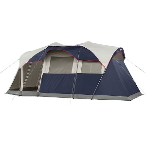 Coleman Elite WeatherMaster 6 Person Camping Tent with screen porch.