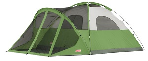 Coleman Evanston 6 Man Screened Tent without Rainfly