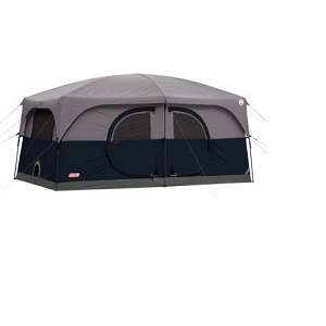 Coleman H&ton 9-Person Family Cabin Tent with Electricity Access Port  sc 1 st  Best Inflatable Air Bed & Favored Family Camping Tents with Two Doors for Privacy and Escape