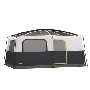 Coleman Prairie Breeze 9 Person Cabin Style Family C&ing Tent.  sc 1 st  Best Inflatable Air Bed & Favored Large and Small Cabin Style Tall Family Camping Tents ...