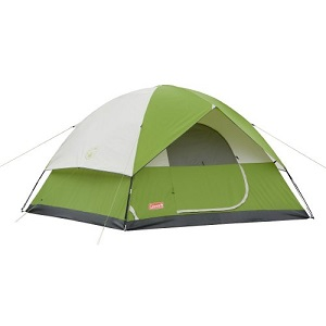 Coleman Sundome 6 Person / Berth Outdoor Hiking C&ing Tent with Rainfly Awning.  sc 1 st  Best Inflatable Air Bed & Favored 6 Person or 8 Person Family Camping Tents | 6 Berth | 6 ...
