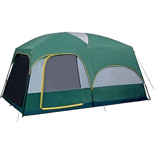 Giga Tent Mt Springer Family Cabin 8 To 10 Person Camping With Screen Porch